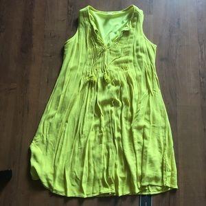 Old Navy S Dress - Yellow/Green EUC